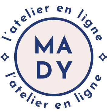 logo mady stamp star